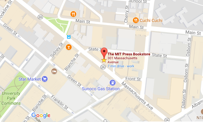 MIT Press Bookstore, Cambridge, MA