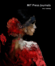 2017 MIT Press Journals Catalog
