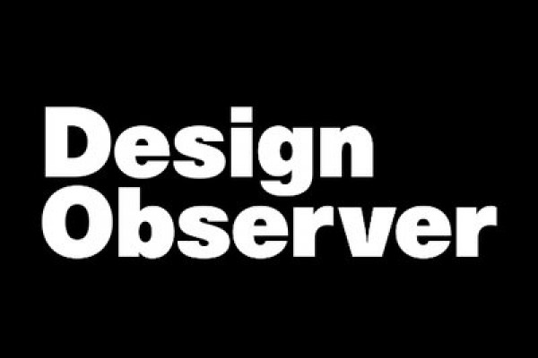 The MIT Press announces their sponsorship of this fall's annual Design Observer conference.