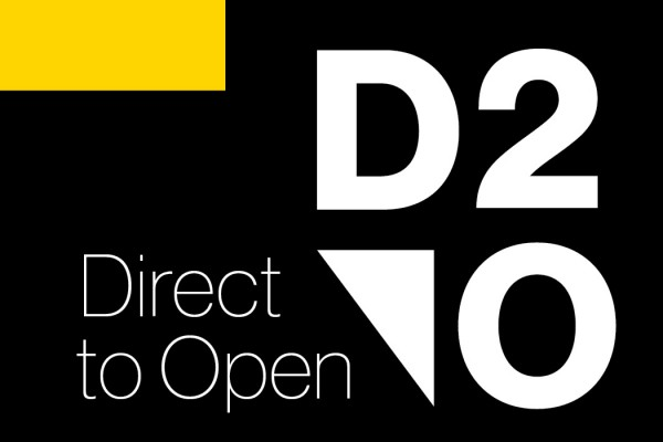 Direct to Open logo